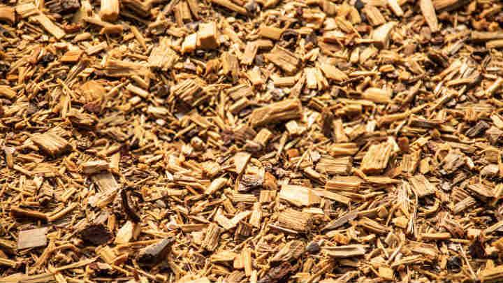 Astillas de madera para la Calefacción
