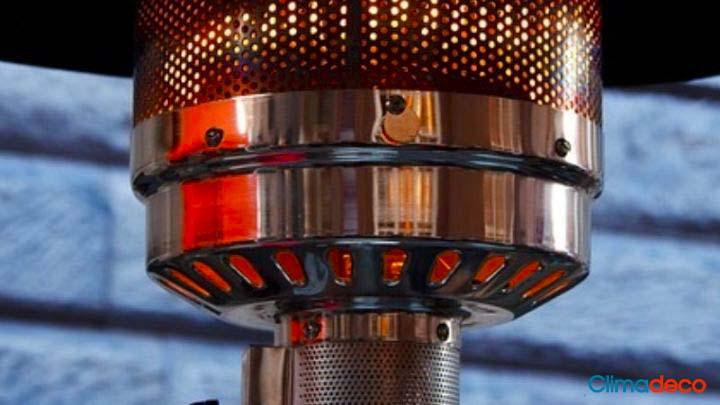 Lámpara de calefacción como alternativa a la estufa de exterior: pros y contras
