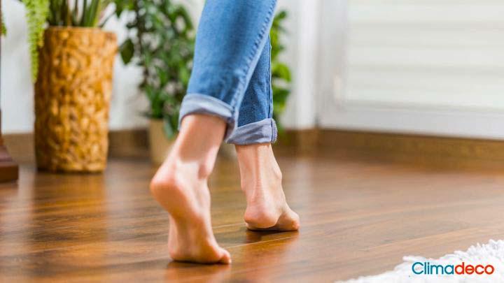 El mejor pavimento para la calefacción por suelo radiante